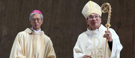 岡田大司教 菊地大司教