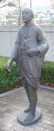 中浦ジュリアン像(島原教会)