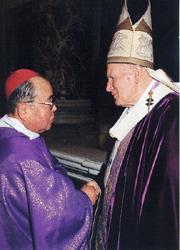 枢機卿叙任 1994年・ローマ
