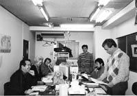 亀戸事務所開設当初