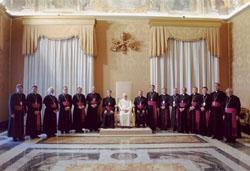 教皇庁定期訪問(アド・リミナ)の写真