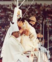 1981年2月24日後楽園での教皇ミサ