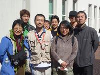 (右端)倉田厚神父