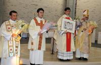 コンベンツァル聖フランシスコ修道会・サレジオ修道会 司祭叙階式