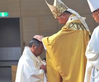諏訪榮治郎司教