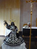 支援先の福島野田町教会聖堂