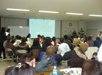 南米出身者を対象にした習志野教会での入管法学習会