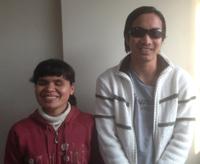 ヨフィタさん(左)、コアさん(右)