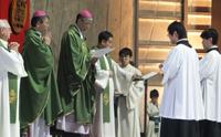 2月23日に行われた朗読奉仕者選任式